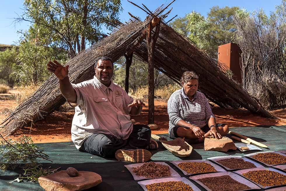 Learn about ancient culture on the Karrke Indigenous Experience