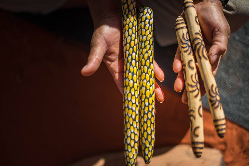 Learn about ancient customs and tradition on the Karrke Indigenous Experience