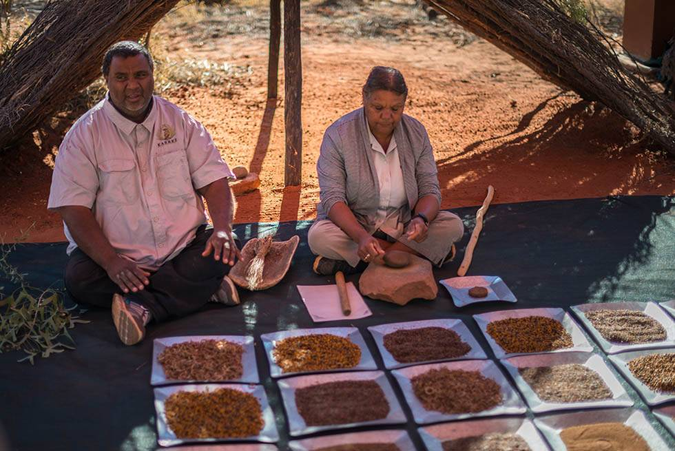 Learn about ancient bush food and medicine on the Karrke Indigenous Experience