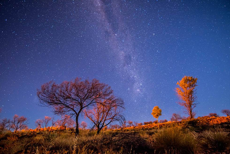 See the starry night sky of the Northern Territory